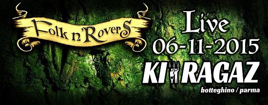 Folk n'Rovers Live - Ki Ragaz 06-novembre-2015
