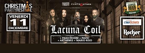 Lacuna Coil live Parma