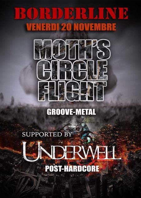 Moth`s Circle Flight live