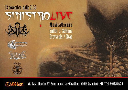 Sinistro Live Firenze