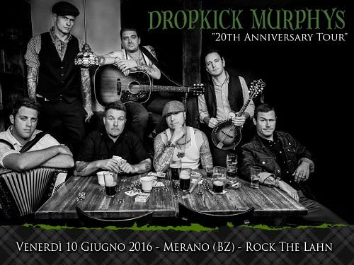 DROPKICK MURPHYS Merano 2016