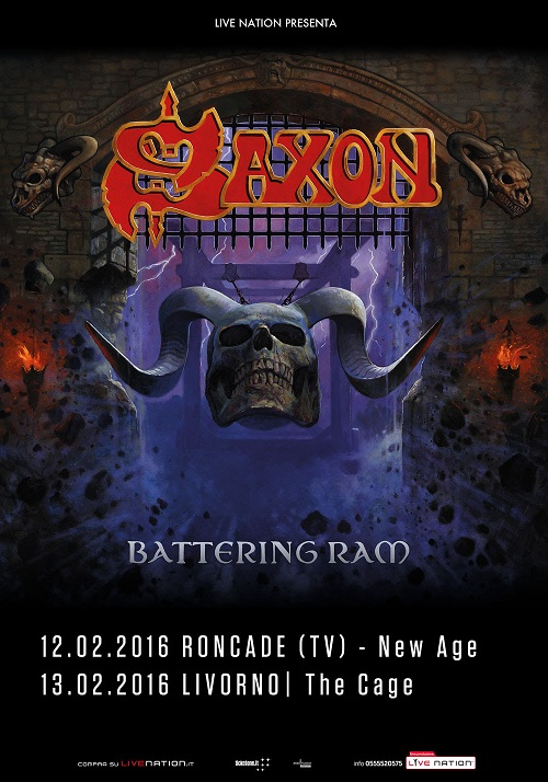 Saxon  due date in Italia