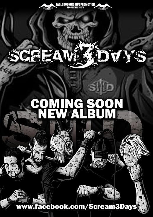 Scream 3 Days promo web