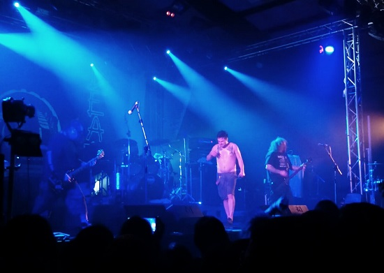 Deathcrusher tour Napalm Death