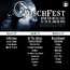 Fosch Fest : la suddivisione per giornata delle band
