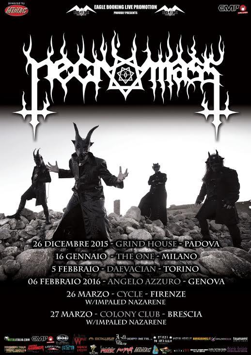 Necromass Italy 2015 promo web