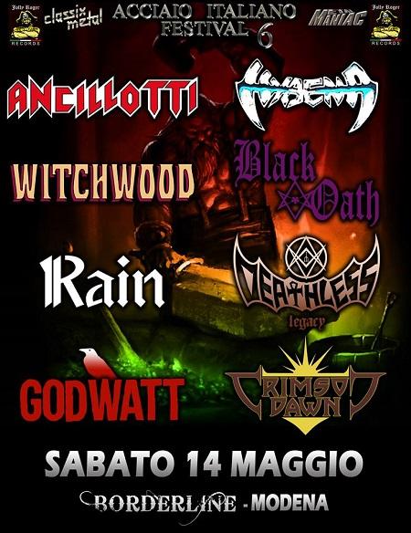 Acciaio Italiano Festival VI