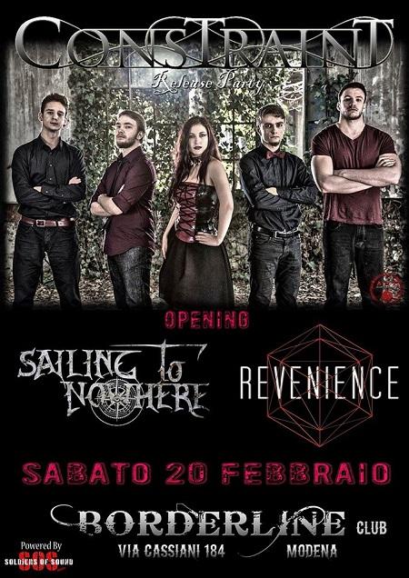 Constraint metal live Modena