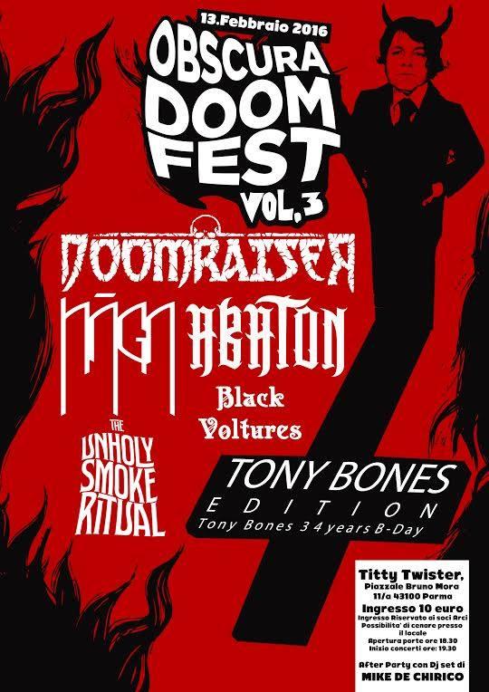 Obscura Doom Fest  a Parma