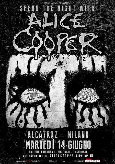 ALICE COOPER tour 2016