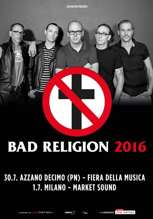 BAD RELIGION 2016