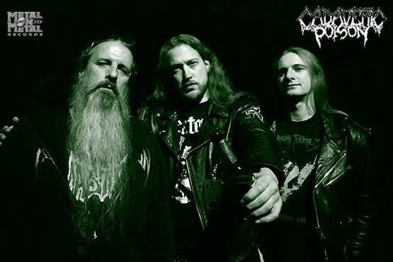 CADAVERIC POISON signs with Metal on Metal Records