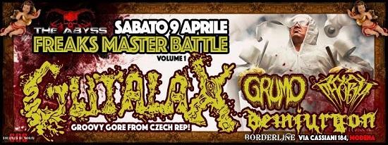 GUTALAX  Prima e Unica data italiana