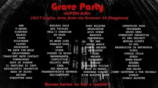 Grave Party 2016 Gaggiano