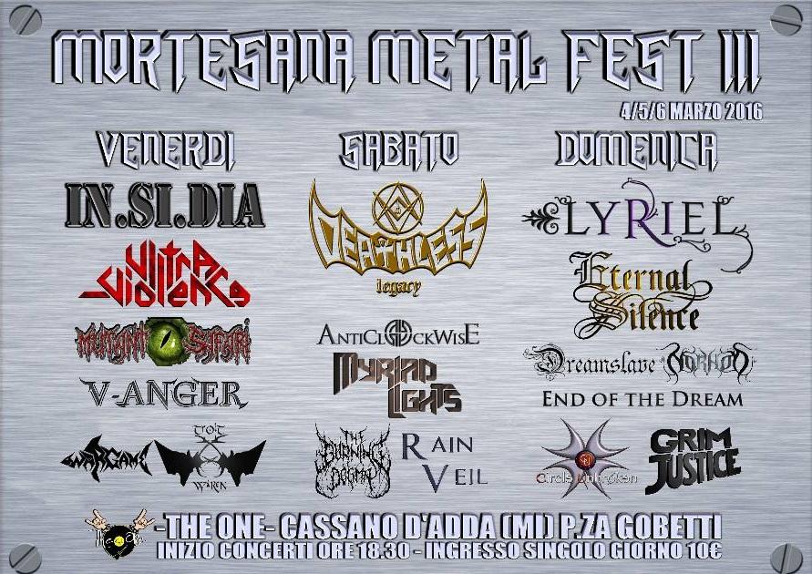 Mortesana Metal Fest