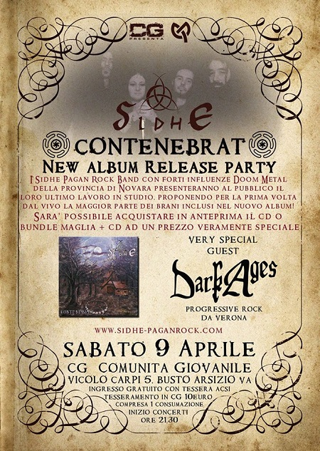 Sidhe release party