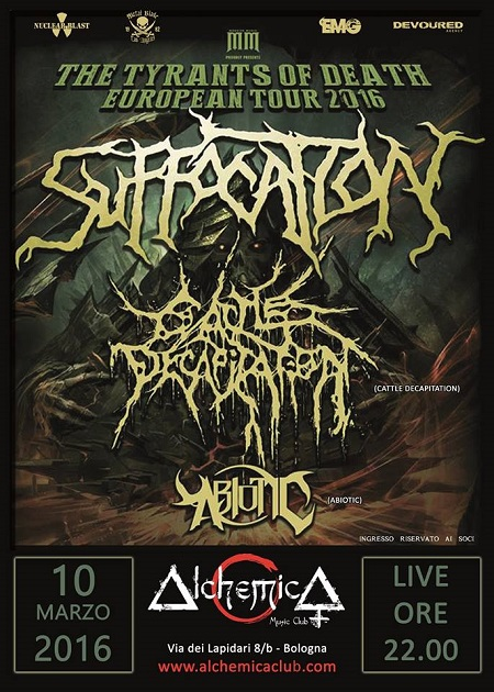 Suffocation Bologna 2016