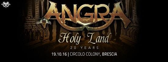 Angra Colony Holy Land 2016