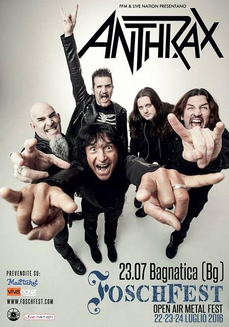 Anthrax Fosch Fest 2016