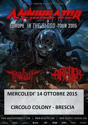 Circolo Colony Brescia Metal 10