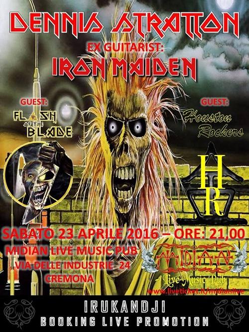 Dennis Stratton Iron Maiden