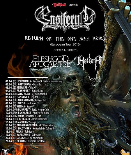 Fleshgod Apocalypse Ensiferum
