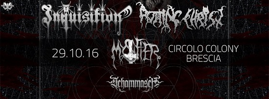 Inquisition Rotting Christ Colony 2016