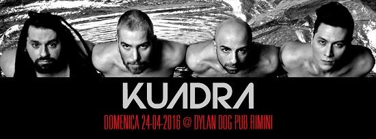 Kuadra live Dylan Dog Rimini