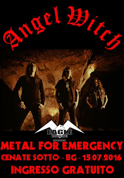 METAL FOR EMERGENCY ANGEL WITCH