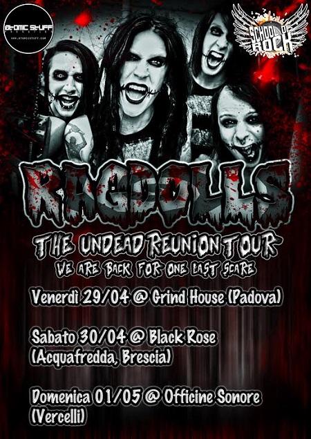 Ragdolls Tour 2016