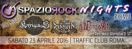 SpazioRock Night Folk Metal Roma