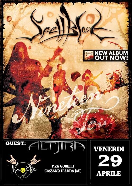 Spellblast + Altjira Live at The One
