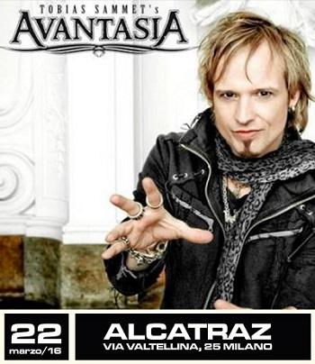 Tobias Sammet Avantasia Milano