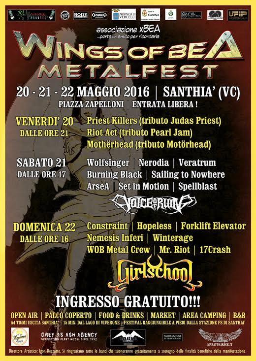 WINGS OF BEA METALFEST 2016