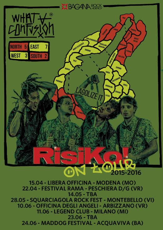 What A Confusion - Risiko On Tour