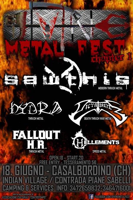 Divine Metal Fest Chapter 1