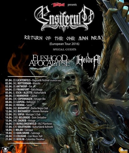 Ensiferum-Fleshgod_Locandina