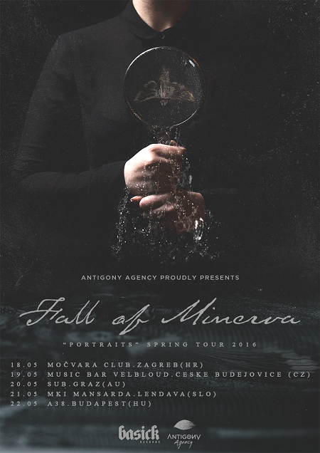 Fall Of Minerva - Portraits Spring Tour 2016