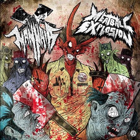 MANNAIAMEATBALL EXPLOSION split-LP