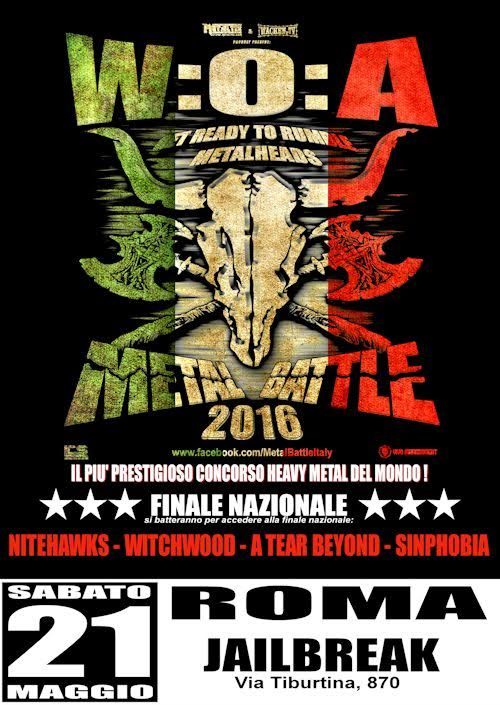 METAL BATTLE ITALY 2016