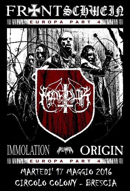 Marduk Colony Brescia 2016