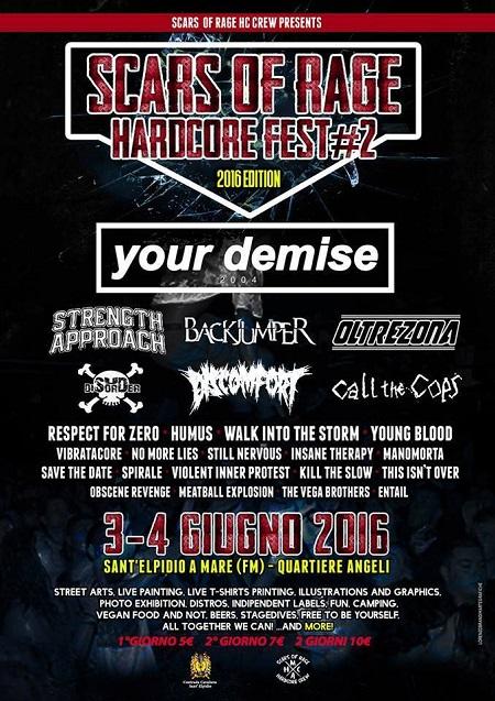 Scars of Rage Hardcore Fest#2