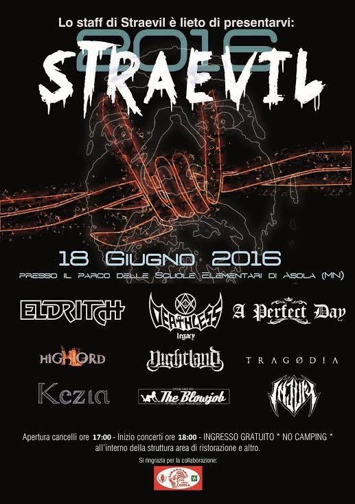 Straevil Fest 2016