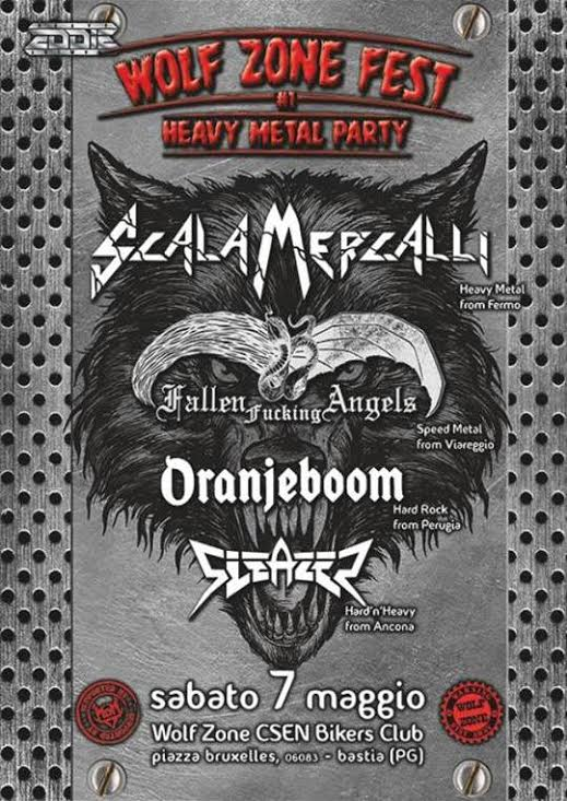 Wolf Zone Fest -1° Heavy Metal Party
