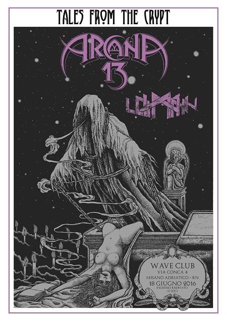 ARCANA 13 live