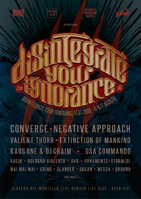 DISINTEGRATE YOUR IGNORANCE