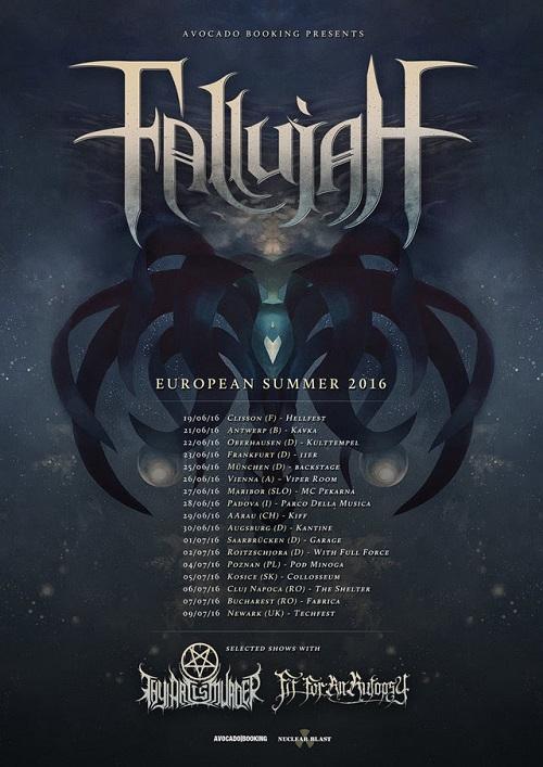 Fallujah tour 2016