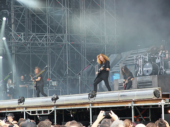 Megadeth Gods Of Metal 2016 2