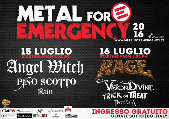 Metal For Emergency 2016