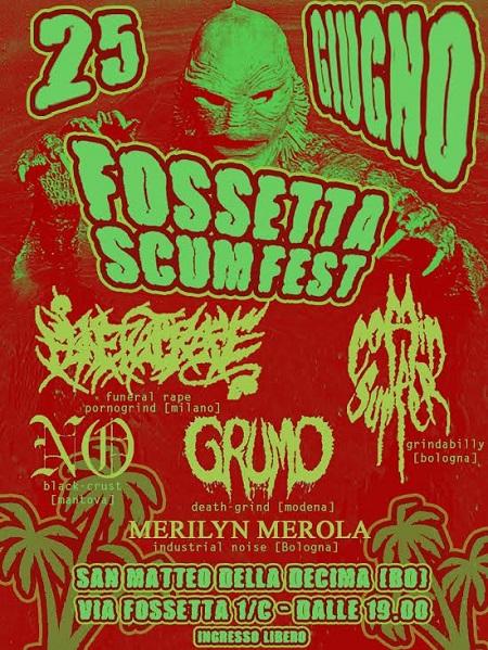 OFFICIAL Locandina Fossetta Scum Fest